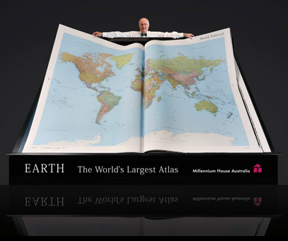Millenium Atlas, the World's Largest Atlas
