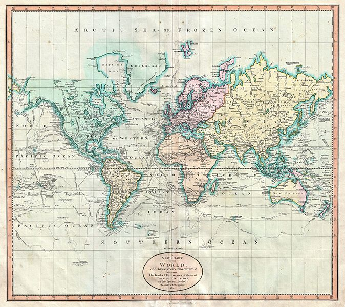 The Mercator Projection - How interactive maps can wrongly influence on