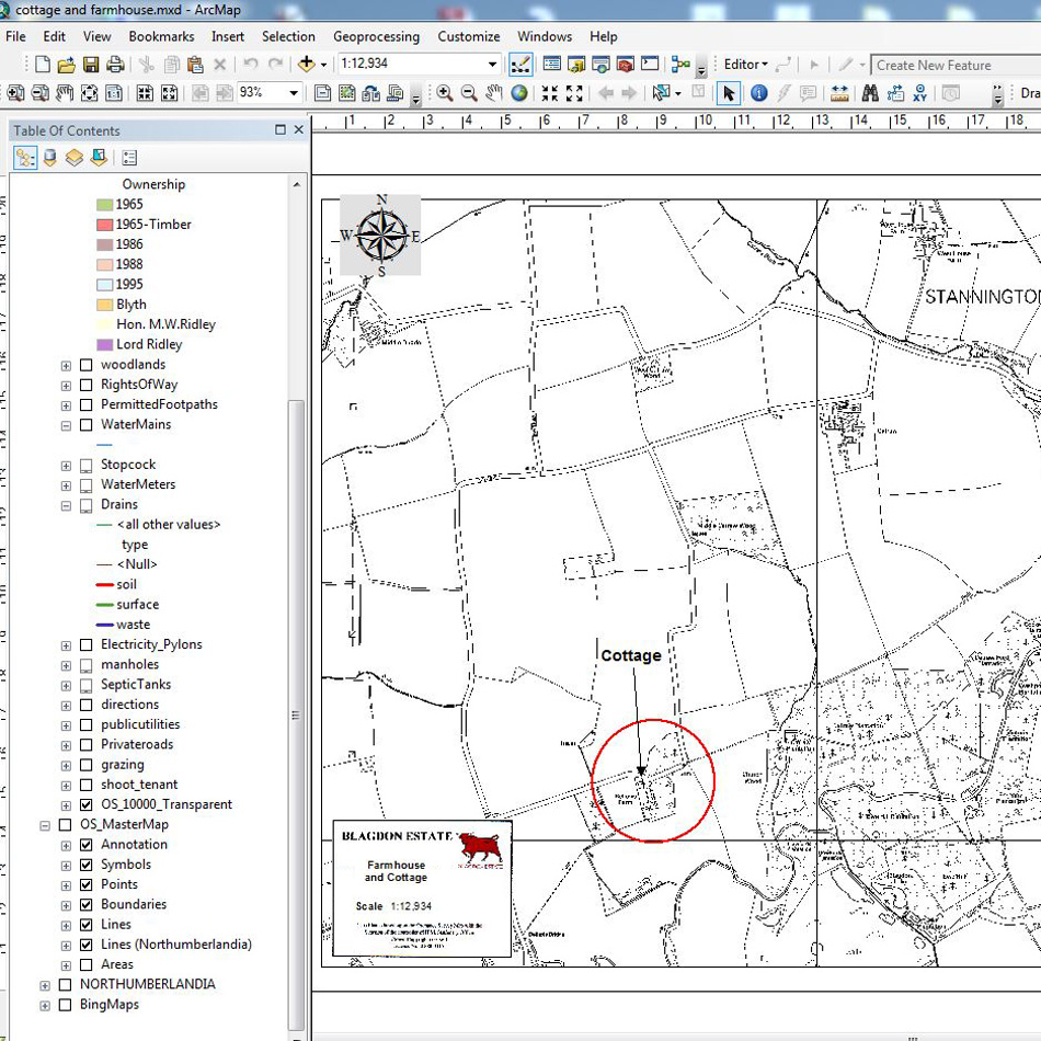 GIS Software and Training - Blagdon Estate - Lovell Johns