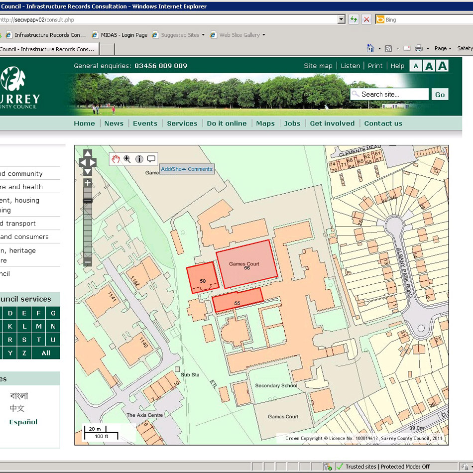 Case Study GIS Web Map Service Open Source Web Mapping Lovell Johns