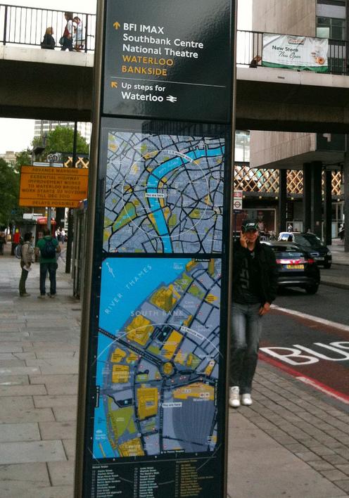 Legible London wayfinding signs. Image courtesy of der_dennis, Flickr