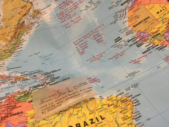 How mapping companies update world maps