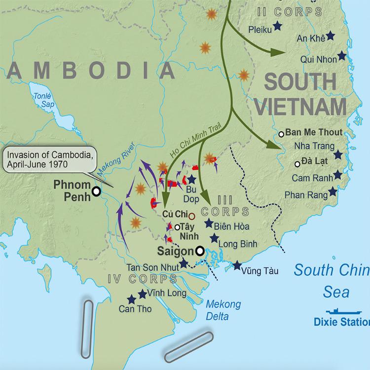 Vietnam Battle Map Publishers 1 Lovell Johns