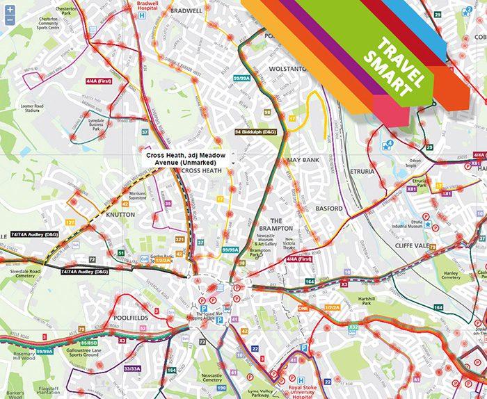 Stoke on Trent Travel Smart - Sustainable Travel