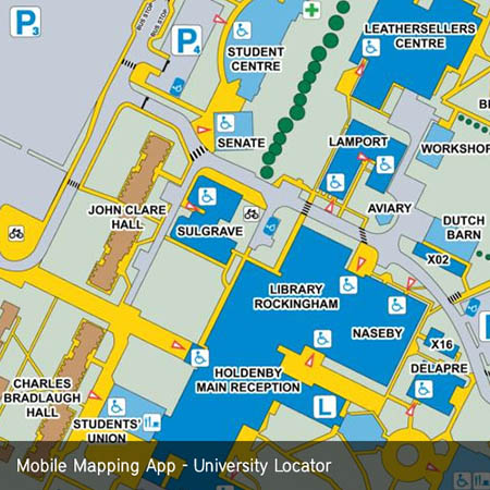 Northampton University Mobile Map App