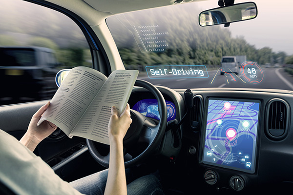 Navigation systems self-driving cars Lovell Johns image