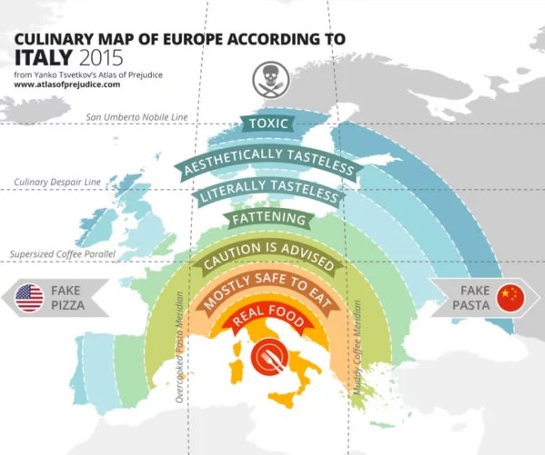 Culinary Map of Europe image