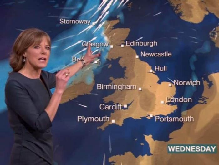 Map Making - BBC Weather - size of Scotland image