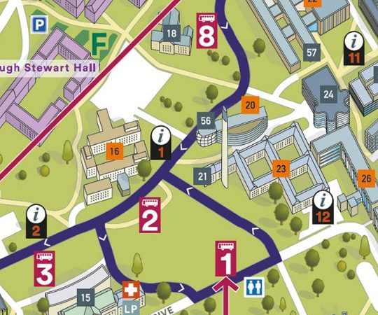 Site Plans and Campus Maps