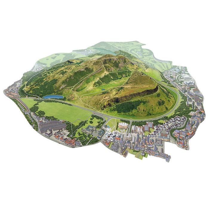 Illustrated Maps Style Image 1