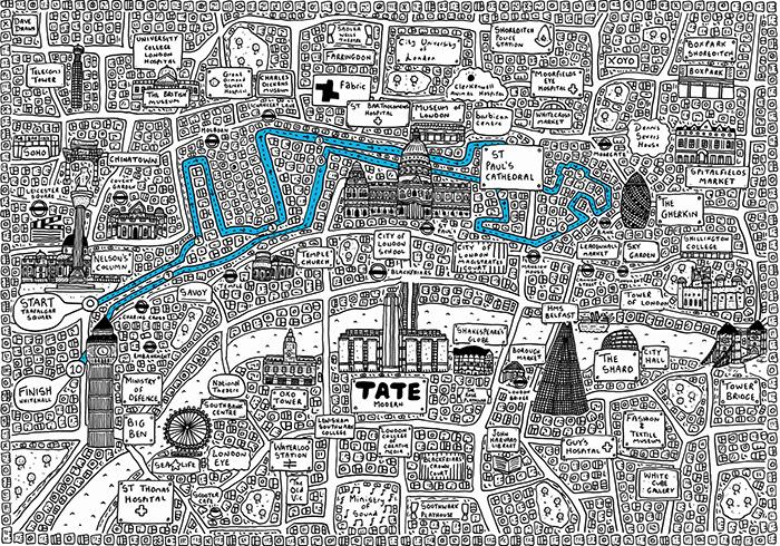 Illustrated Maps Style Image 2