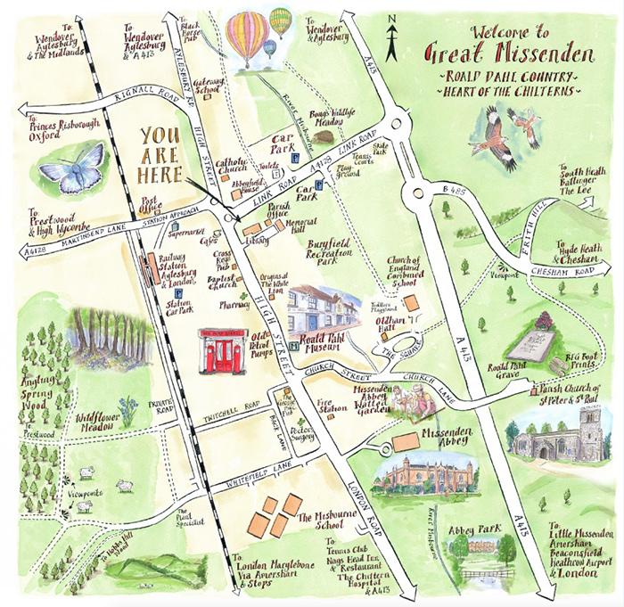 Illustrated Maps Style Image 3